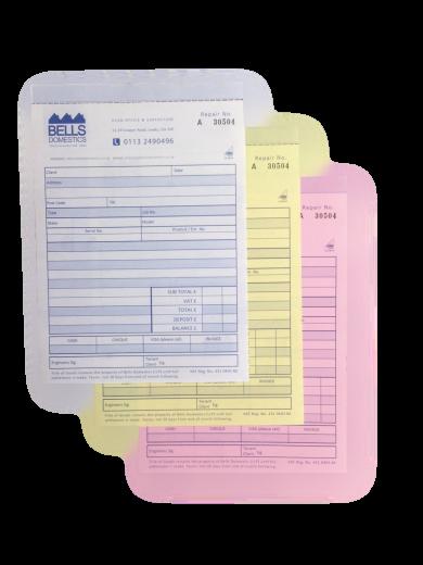 NCR Carbonless Forms Printing