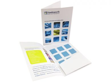 Glued Pocket Presentation Folders