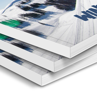 Printed Perfect Bound Brochures