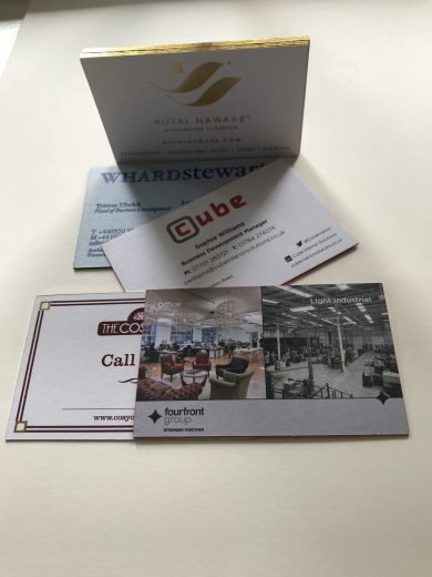 Premium Business Cards Leeds