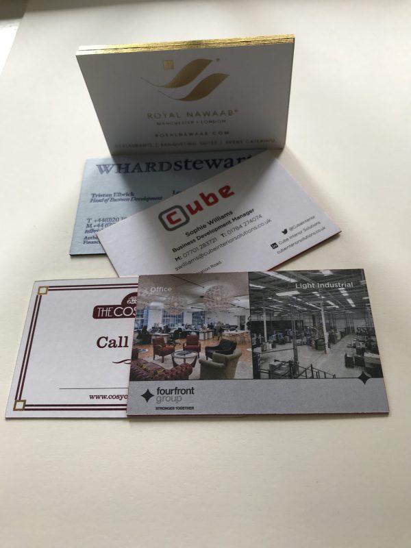 Premium Business Cards Leeds